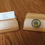 Business Card Holder – Reclaimed Pine